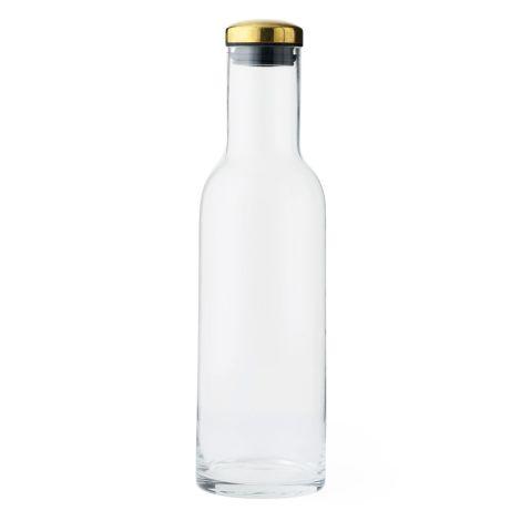 Menu Bottle Karaffe 1 L Clear/Brass