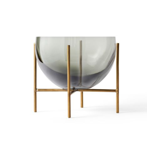 Menu Echasse Schale S Smoke/Brushed Brass