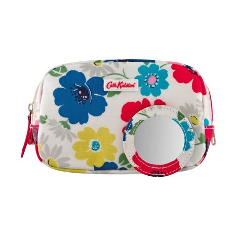 cath kidston make up tasche mini paradise flowers ivory online kaufen emil paula. Black Bedroom Furniture Sets. Home Design Ideas
