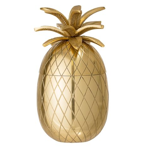 Bloomingville Eiskübel Ananas Gold •