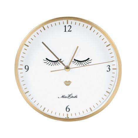 Miss Étoile Uhr für Tisch oder Wand Eyes