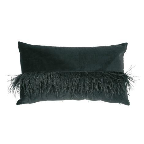 Miss Étoile Kissen Feather Black