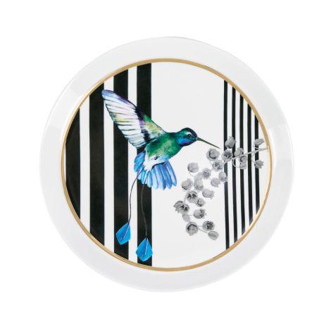Miss Étoile Teller Bird and Stripes 21 cm •