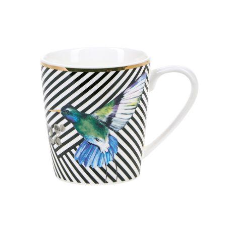 Miss Étoile Tasse Bird and Stripe •