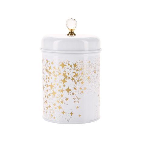 Miss Étoile Aufbewahrungsdose Gold Stars 15 cm