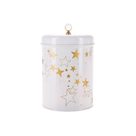 Miss Étoile Aufbewahrungsdose Gold Stars 20 cm