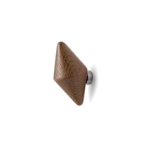Normann Copenhagen Tivoli Wandhaken Quin Small Smoked Oak 2er-Set