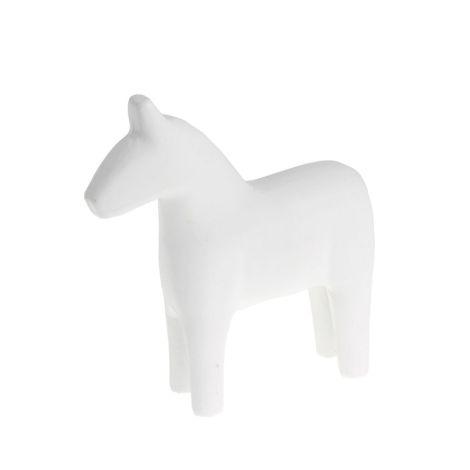 Storefactory Deko-Pferd Rättvik White