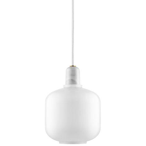 Normann Copenhagen Amp Hängeleuchte Small White/White