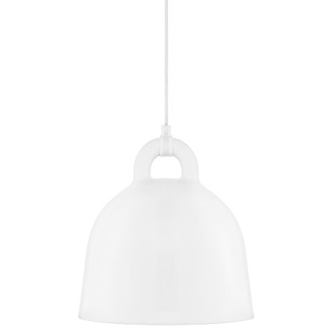 Normann Copenhagen Bell Deckenlampe Small White