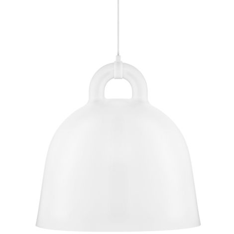 Normann Copenhagen Bell Deckenlampe Large White