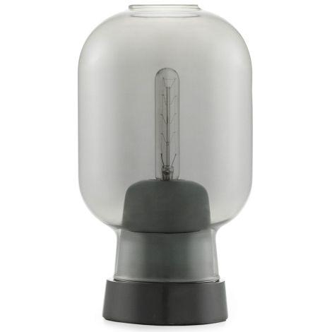 Normann Copenhagen Amp Tischlampe Smoke/Black