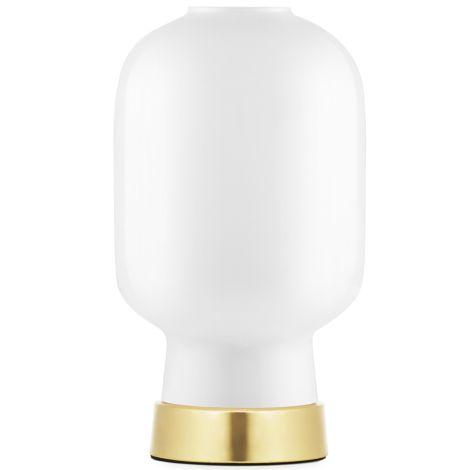 Normann Copenhagen Amp Tischlampe White/Brass