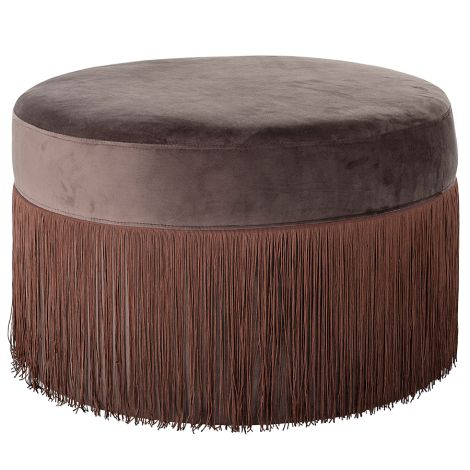 Bloomingville Hocker Pouf Brown