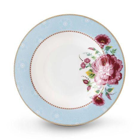 PIP Studio Suppenteller Rose Blue 21,5 cm