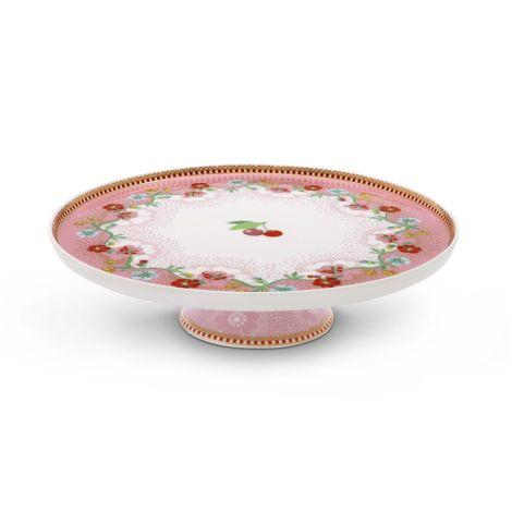 PIP Studio Kleine Kuchenplatte Cherry Pink 21 cm