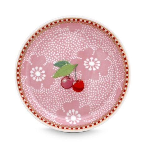 PIP Studio Teebeutel Schälchen Dotted Flower Pink •