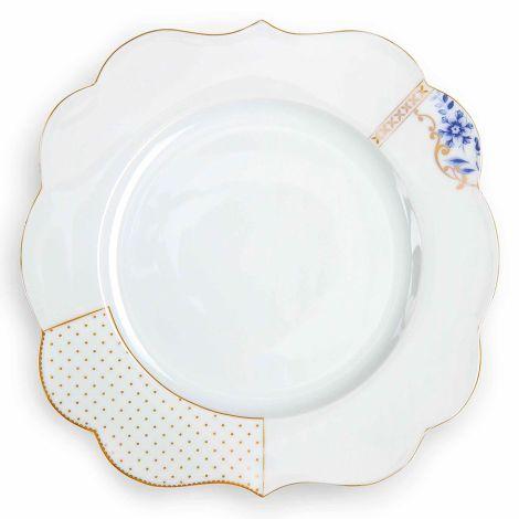 PIP Studio Großer Porzellan Teller Royal White 28 cm