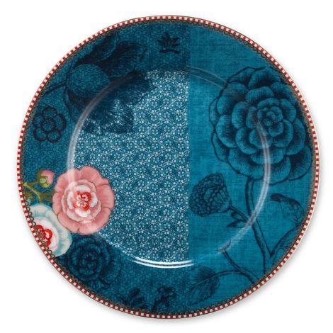 pip studio porzellan teller spring to life blue 21cm online kaufen emil paula. Black Bedroom Furniture Sets. Home Design Ideas
