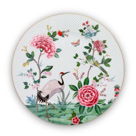 PIP Studio Teller Blushing Birds White 32 cm