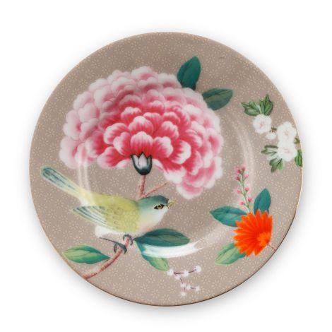 PIP Studio Teller Blushing Birds Khaki 12 cm