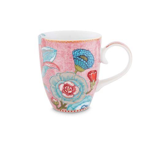 PIP Studio Große Tasse Spring to Life Blüten Pink