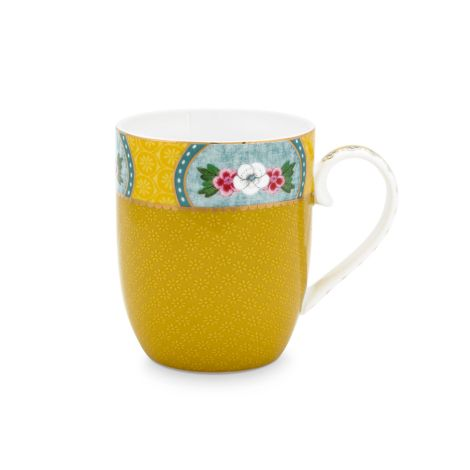 PIP Studio Kleine Tasse Blushing Birds Yellow 145ml