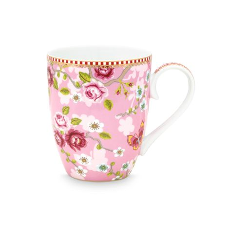 PIP Studio Große Tasse Chinese Rose Pink 350ml