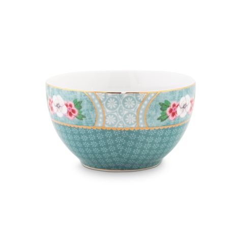 PIP Studio Schüssel Star Flower Blue 9,5 cm