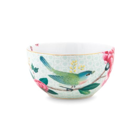 PIP Studio Schüssel Blushing Birds White 12 cm