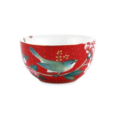 PIP Studio Schüssel Blushing Birds Red 12 cm