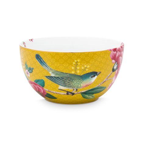PIP Studio Schüssel Blushing Birds Yellow 12cm