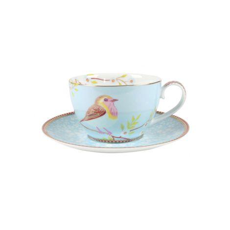 PIP Studio Cappuccino-Tasse Early Bird Blue