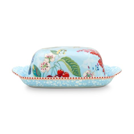 PIP Studio Butterdose Hummingbirds Blue