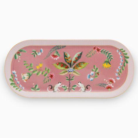 PIP Studio Tortenplatte länglich La Majorelle Pink