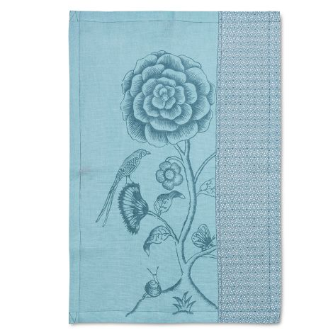 PIP Studio Geschirrtuch Spring to Life Lacy Blue
