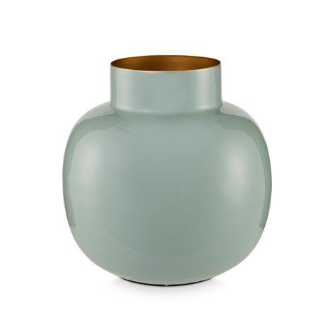 PIP Studio Vase Metall Rund Light Blue 25 cm