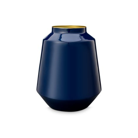 PIP Studio Vase Metall Blue 29cm