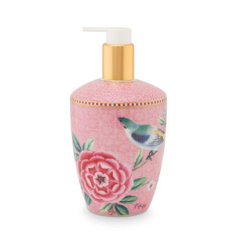 PIP Studio Seifenspender Floral Good Morning Pink •