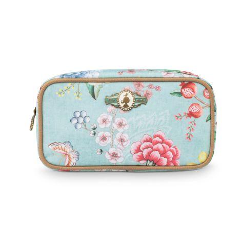 PIP Studio Kosmetiktasche Square Floral Blue •