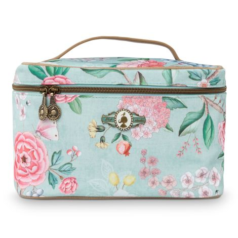 PIP Studio Kosmetikkoffer Beauty Case Floral Blue