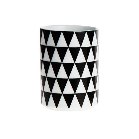 ferm LIVING Porzellan Becher Geometry Cup 3