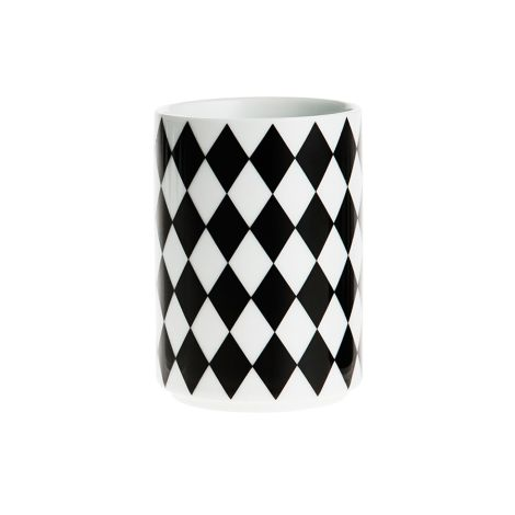 ferm LIVING Porzellan Becher Geometry Cup 4