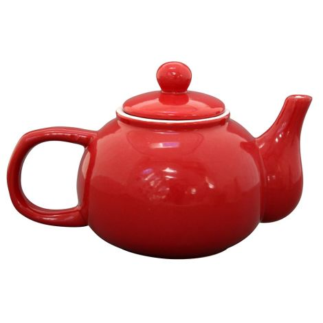 Krasilnikoff Teekanne Red