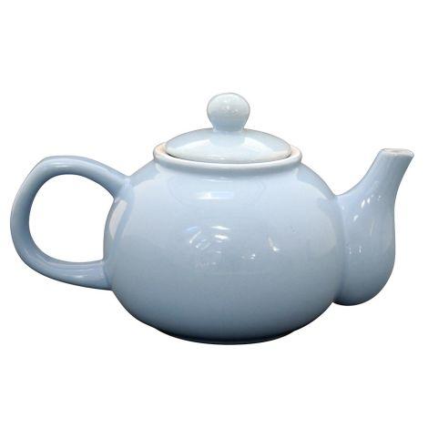 Krasilnikoff Teekanne Baby Blue •