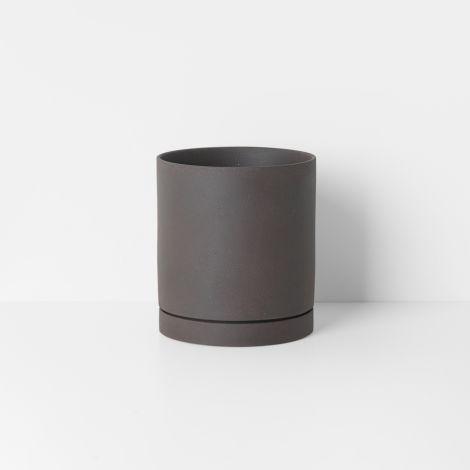 ferm LIVING Gefäß Sekki Pot Large Charcoal
