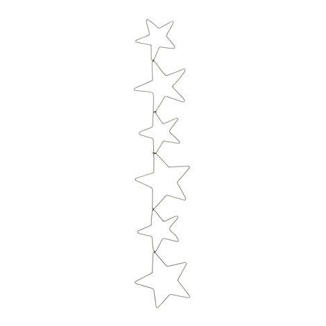 IB LAURSEN Sterngirlande mit 6 Sternen