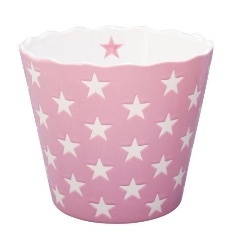 Krasilnikoff Schüssel Happy Stars Pink L
