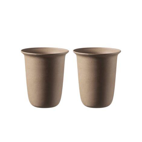 FDB Møbler V34 - Ildpot Kaffeetasse Naturbraun 2er-Set