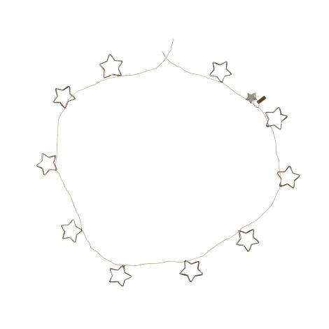 IB LAURSEN Deko-Girlande mit 10 Sternen